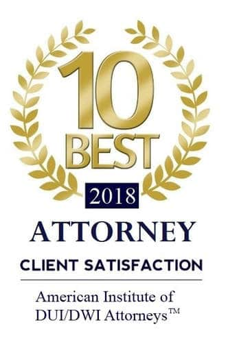 Top DUI Lawyer AVVO